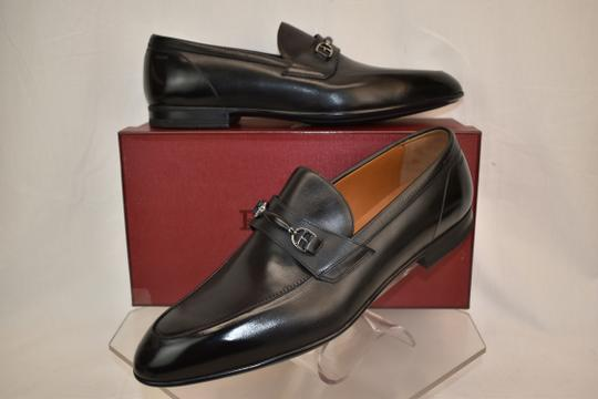 Bally Black Carew Leather Morsetto Horse Bit Classic Loafers 12 Ee+ 45 Swiss Shoes Image 1