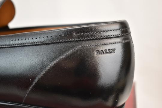 Bally Black Carew Leather Morsetto Horse Bit Classic Loafers 12 Ee+ 45 Swiss Shoes Image 10