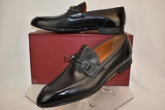 Bally Black Carew Leather Morsetto Horse Bit Classic Loafers 12 Ee+ 45 Swiss Shoes Image 2