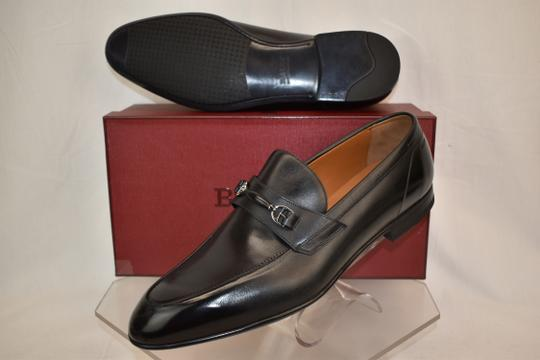 Bally Black Carew Leather Morsetto Horse Bit Classic Loafers 12 Ee+ 45 Swiss Shoes Image 3