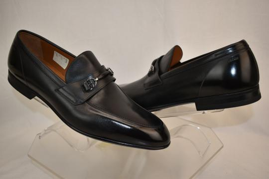 Bally Black Carew Leather Morsetto Horse Bit Classic Loafers 12 Ee+ 45 Swiss Shoes Image 4
