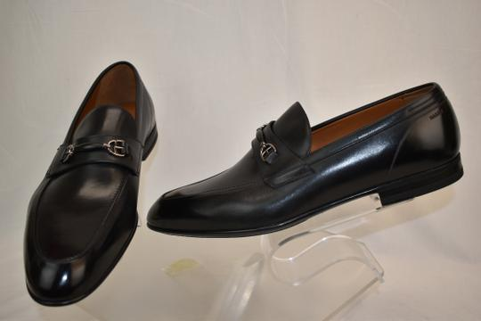 Bally Black Carew Leather Morsetto Horse Bit Classic Loafers 12 Ee+ 45 Swiss Shoes Image 5