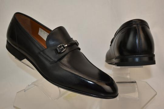 Bally Black Carew Leather Morsetto Horse Bit Classic Loafers 12 Ee+ 45 Swiss Shoes Image 6