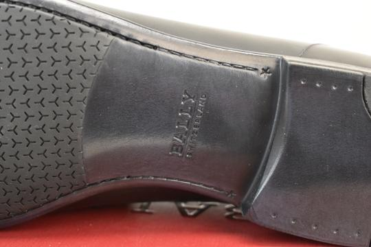 Bally Black Carew Leather Morsetto Horse Bit Classic Loafers 12 Ee+ 45 Swiss Shoes Image 9
