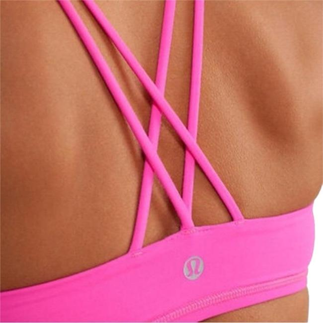 Preload https://img-static.tradesy.com/item/24850982/lululemon-pink-free-to-be-activewear-sports-bra-size-6-s-28-0-1-650-650.jpg