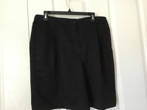 Karen Scott Bermuda Shorts Black