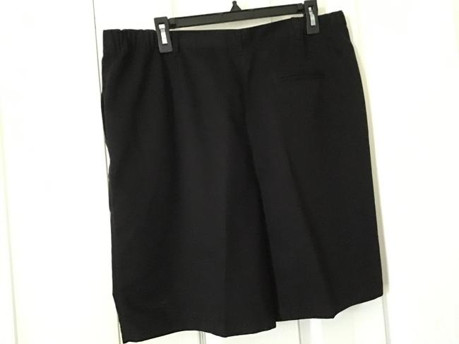 Karen Scott Bermuda Shorts Black Image 1