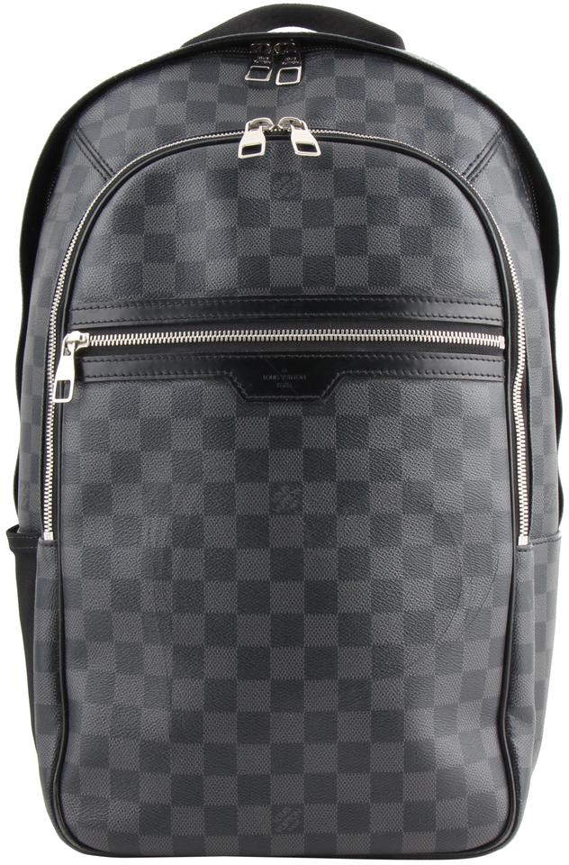 Louis Vuitton Michael Black Canvas Backpack - Tradesy 36921fcbda