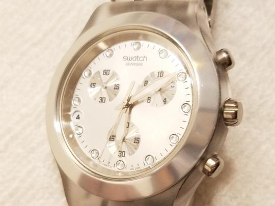 Swatch Swatch Swiss Irony Chronograph Watch Luminous Hands Image 1