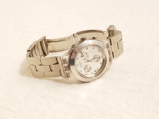 Swatch Swatch Swiss Irony Chronograph Watch Luminous Hands Image 4