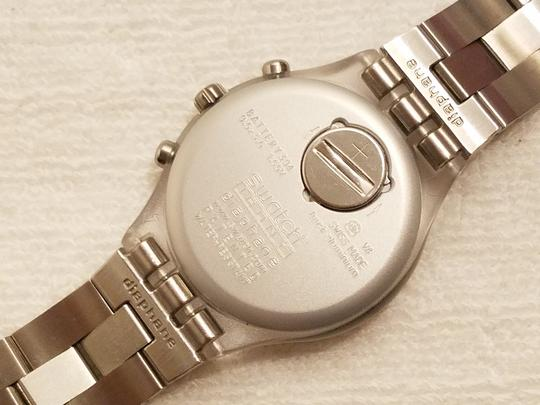 Swatch Swatch Swiss Irony Chronograph Watch Luminous Hands Image 7