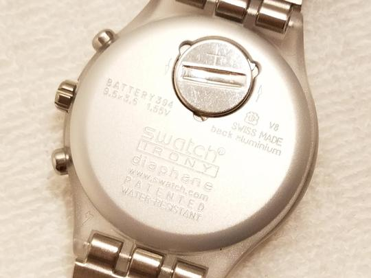 Swatch Swatch Swiss Irony Chronograph Watch Luminous Hands Image 8