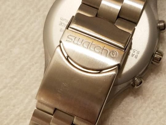 Swatch Swatch Swiss Irony Chronograph Watch Luminous Hands Image 9