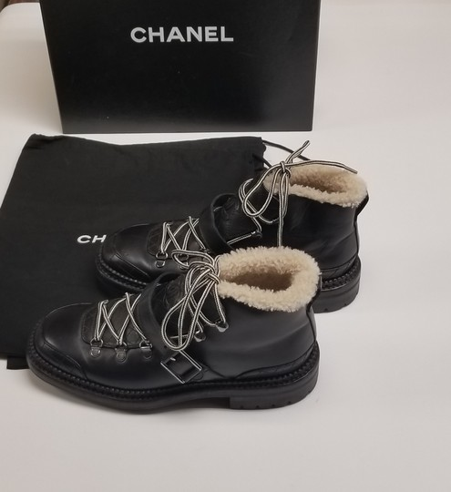 Chanel Chanel15k Black Boots Image 1