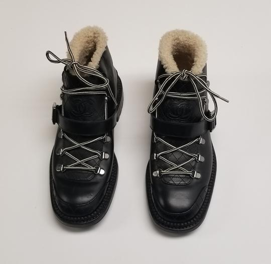 Chanel Chanel15k Black Boots Image 2