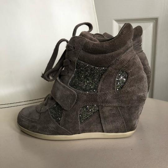 Ash Taupe Wedges Image 1