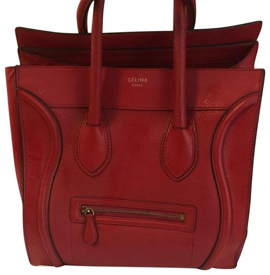 Preload https://img-static.tradesy.com/item/24851309/celine-luggage-mirco-coquelicot-calfskin-leather-tote-0-1-540-540.jpg