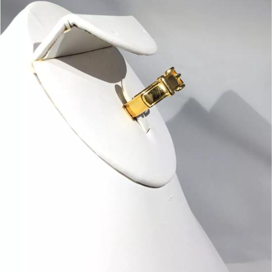 Hermès Gold Scarf-Ring with Buckle Design Image 2
