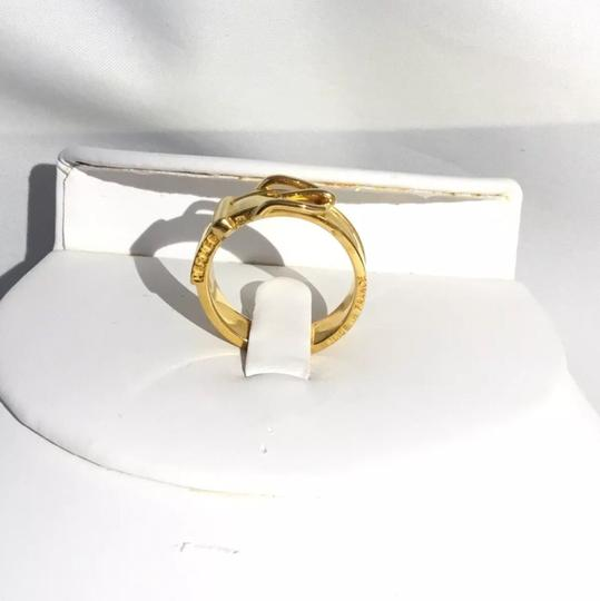 Hermès Gold Scarf-Ring with Buckle Design Image 3