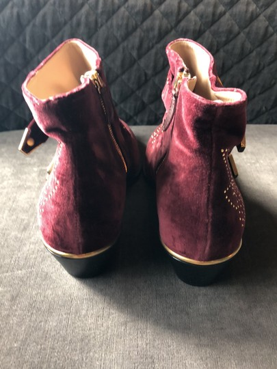Chloé Maroon Boots Image 3
