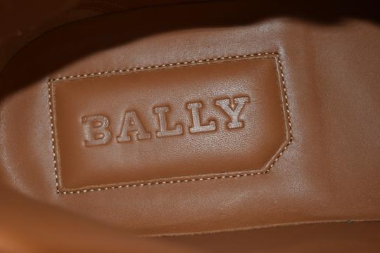 Bally Multicolor Herick White Red Blue Leather Hi Top Stripe Logo Sneakers 11 Us 44 Shoes Image 8