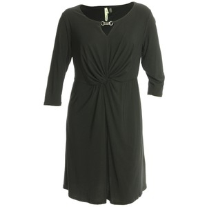 NY Collection 2x Plus Size Twist Dress