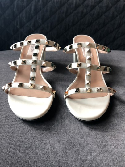 Valentino Cream Sandals Image 1