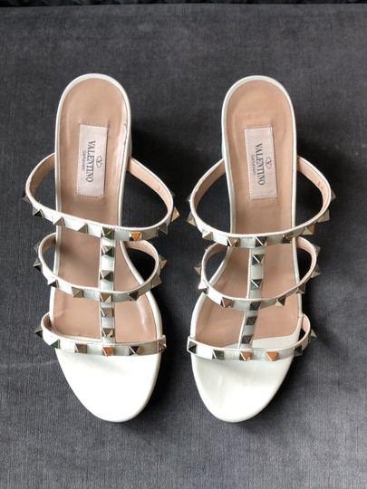 Valentino Cream Sandals Image 2