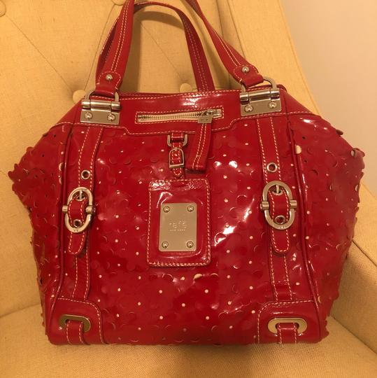 Rafe New York Tote in Red Image 1