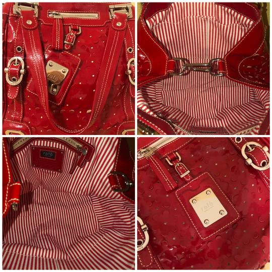 Rafe New York Tote in Red Image 6