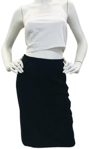 Lanvin Musthave Pencil Trends Clasic Iconic Skirt Black