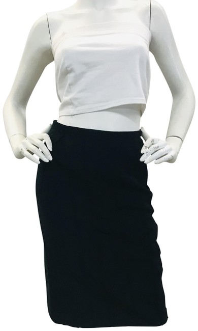 Preload https://img-static.tradesy.com/item/24851369/lanvin-black-pencil-skirt-size-4-s-27-0-1-650-650.jpg