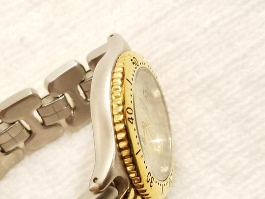 Fossil Fossil Gold Tone Watch Luminous Hands Rotating Bezel Image 2
