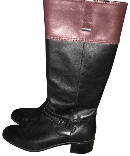 Preload https://img-static.tradesy.com/item/24851404/bandolino-blackbrown-two-tone-bootsbooties-size-us-9-regular-m-b-0-1-540-540.jpg