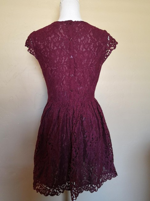 Divided by H&M short dress red Ballerina Lace Short Mini on Tradesy Image 1
