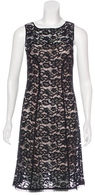 Preload https://img-static.tradesy.com/item/24851534/nina-ricci-black-lace-cotton-blend-sheath-mid-length-cocktail-dress-size-6-s-0-1-650-650.jpg