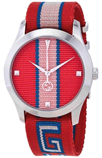 Preload https://img-static.tradesy.com/item/24851926/gucci-red-and-pink-g-timeless-stainless-steel-quartz-round-unisex-watch-0-1-540-540.jpg