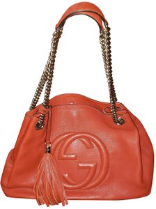 Gucci Tote in Blood Orange
