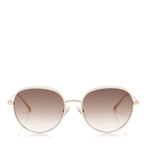 542bbbd088643 White Jimmy Choo Sunglasses - Up to 70% off at Tradesy
