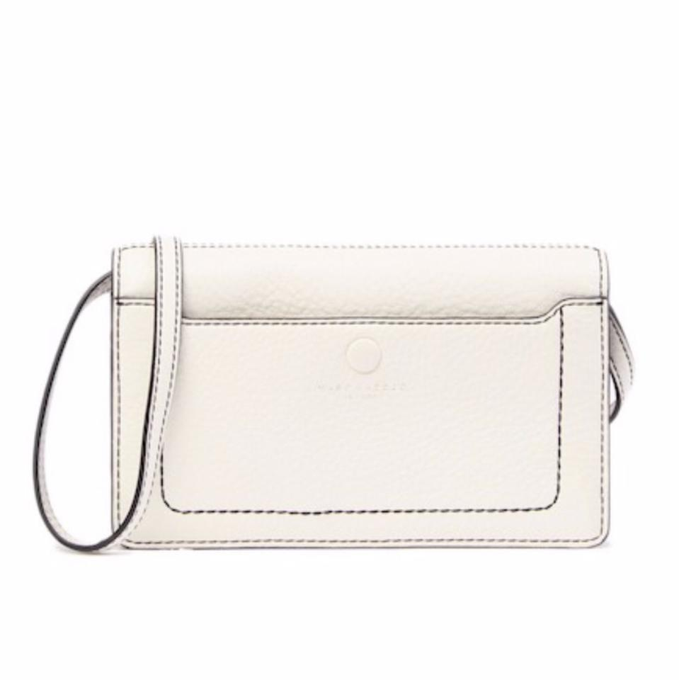 283b478196 Marc Jacobs Empire City Str Wallet White Leather Cross Body Bag ...