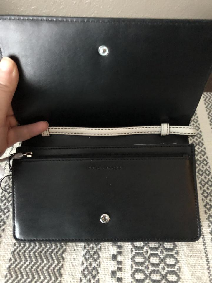 701605806df Marc Jacobs Empire City Str Wallet White Leather Cross Body Bag ...
