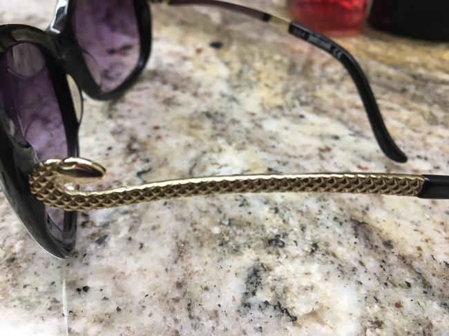 Just Cavalli Black and Silver Snake Sunglasses Just Cavalli Black and Silver Snake Sunglasses Image 5