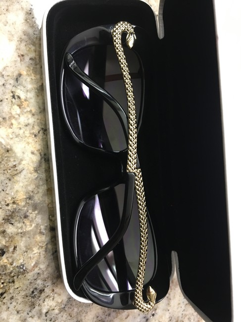 Just Cavalli Black and Silver Snake Sunglasses Just Cavalli Black and Silver Snake Sunglasses Image 6