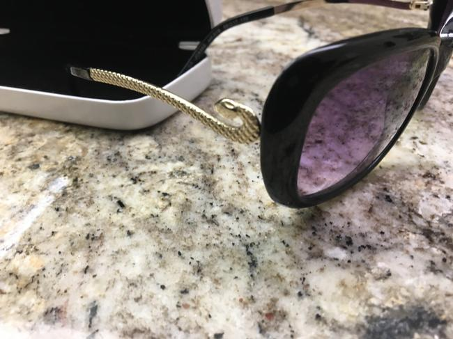 Just Cavalli Black and Silver Snake Sunglasses Just Cavalli Black and Silver Snake Sunglasses Image 7