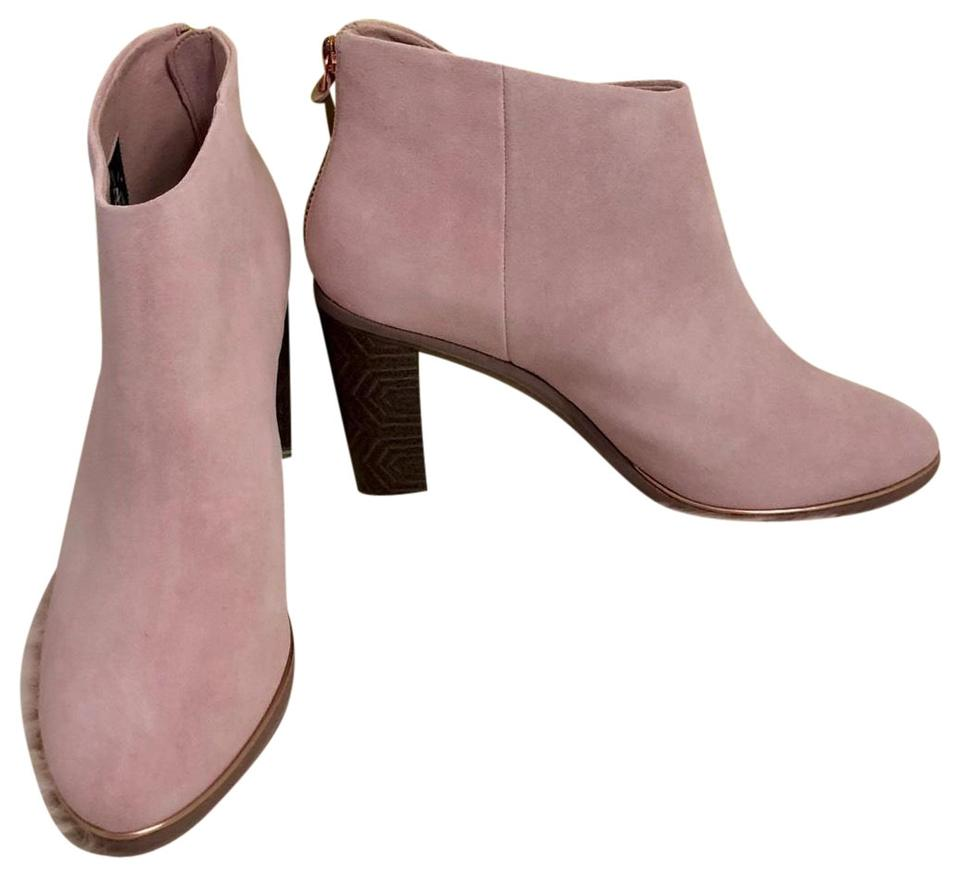 180ad7c74aa Ted Baker Mink Pink New London - Azaila Suede Boots/Booties Size US 8.5  Regular (M, B) 54% off retail