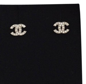 Chanel Chanel Mini CC Logo Earrings