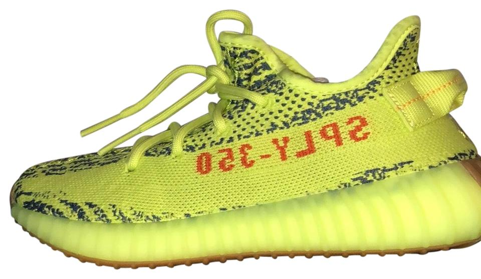 size 40 102dd 2cfab adidas X Yeezy Neon Yellow (Frozen Yellow) Boost 350 V2 Sneakers Size US  4.5 Regular (M, B) 29% off retail
