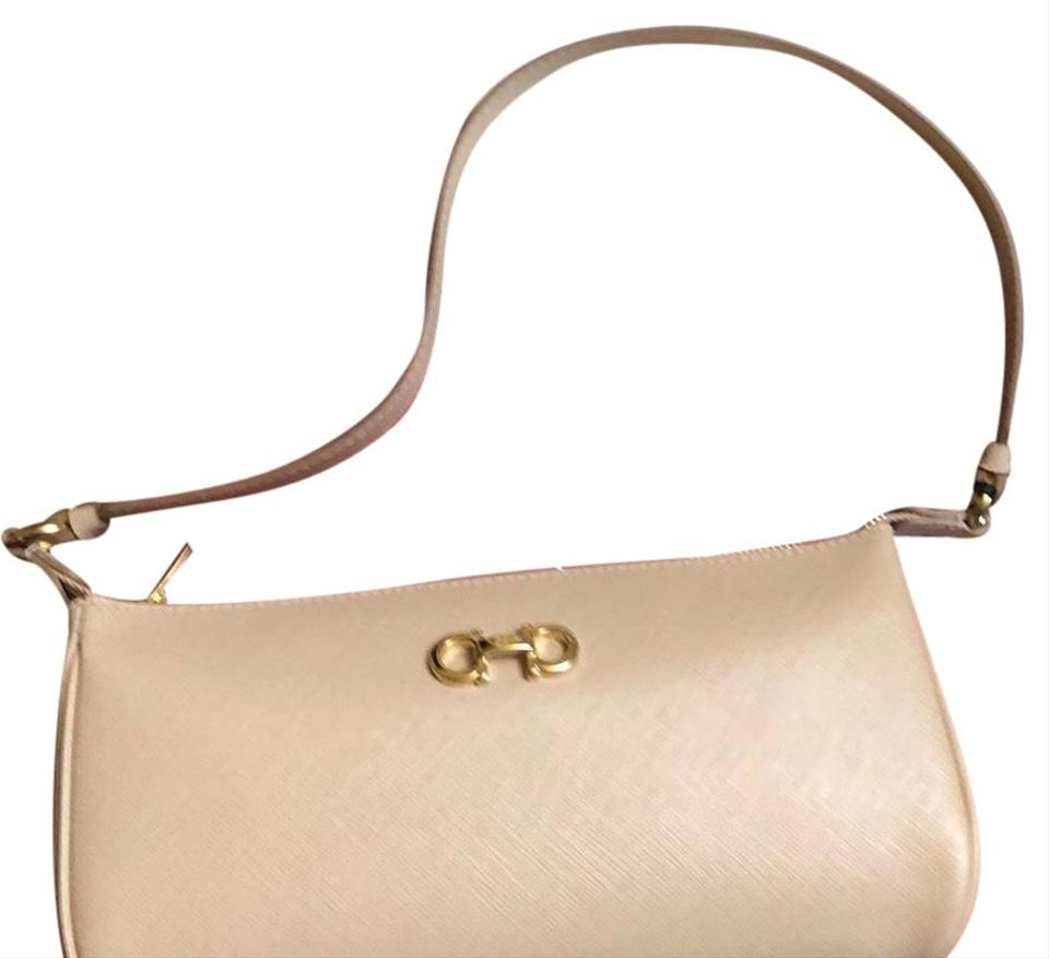 Salvatore Ferragamo Lisetta Nude Or Beige Leather Shoulder Bag - Tradesy bcee64cdbc907