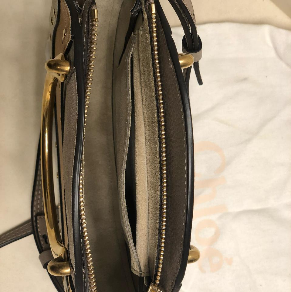 71b9eec4b9dc Chloé Pixie Tri Color Small Multi— Cream Brown Wtc Calfskin Leather  Shoulder Bag - Tradesy