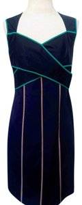 Jessica Simpson short dress Dark Blue & Turquoise on Tradesy